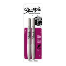 Sharpie® Metallic Fine Point Permanent Markers, Silver
