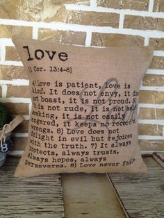 Love Is Patient Love is Kind 1 Corinthians by SimplyFrenchMarket