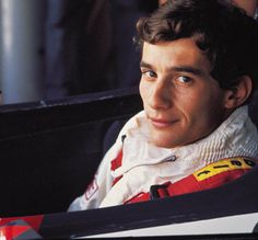 ayrton senna | Ayrton Senna no cockpit de um Toleman, sua primeira equipe na ...