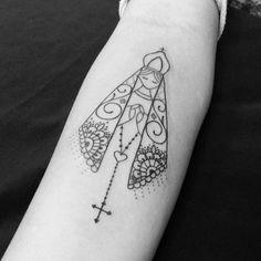 60 Tatuagens de Nossa Senhora Aparecida