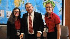 2015 Girls Nation - Melissa Fuentes as a U.S. Senator!