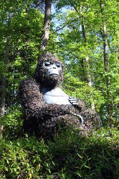 Unicorn - Atlanta Botanical Garden | Balkongen / Fönster / Odling ... Lebendige Skulpturen Im Garten Atlanta