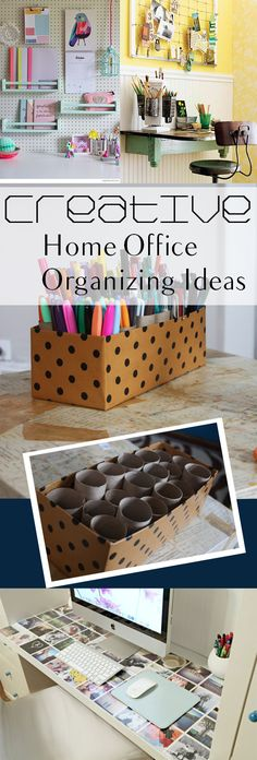 Creative Home Office Organizing Ideas