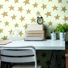 Starlight Wallpaper. Young at Heart book by York Wallcoverings.