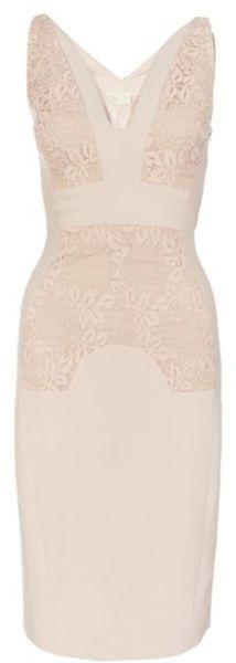 Antonio Berardi Pencil Dress in Pink: civil hall morning wedding dress. I'm in love with this dress.