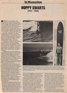 a legend of the Palos Verdes surf scene.