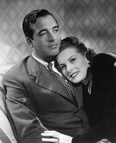 John Payne and Maureen O'Hara | publicity photo for the 1947… | Flickr