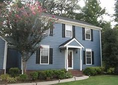 Want a fresh new look for the outside of your home? Get inspired by these eye-catching exterior paint color schemes from scoutblogging.com.