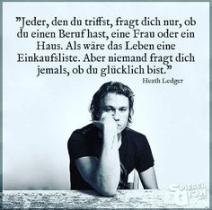 How true – best pins – Words Osho, Best Quotes, Love Quotes, Motivational Quotes, Inspirational Quotes, German Quotes, Travel Words, Heath Ledger, Some Words