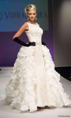 Yumi Katsura Fall 2016 Wedding Dresses — 50th Anniversary Golden Harvest Bridal Collection   Wedding Inspirasi