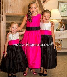 203 Best Hot Pink Flower Girl Dresses Weddings Images In 2019