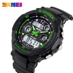 $9.30 (Buy here: https://alitems.com/g/1e8d114494ebda23ff8b16525dc3e8/?i=5&ulp=https%3A%2F%2Fwww.aliexpress.com%2Fitem%2FS-SHOCK-2016-Luxury-Brand-Men-Sports-Watches-Military-Army-Digital-LED-Quartz-Watch-Wristwatch-Relogio%2F32626377866.html ) S SHOCK 2016 Luxury Brand Men Sports Watches Military Army Digital LED Quartz Watch Wristwatch Relogio Reloj SKMEI Clock Relojes for just $9.30