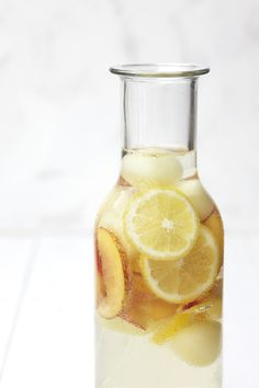 "white sangria www.LiquorList.com ""The Marketplace for Adults with Taste!"" @LiquorListcom   #LiquorList.com"
