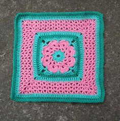 "Ravelry: More V's Please - 12"" square pattern by Melinda Miller Free Crochet Granny Afghan Square Pattern"