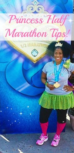 Disney Princess Half Marathon Tips! If you're reading this you are probably considering or getting ready to run at the most Magical Place on Earth! www.myprettybrownblog.com #runDisney #princesshalf #waltdisneyworld