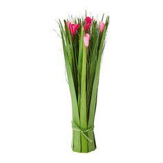 TÄRNA Bouquet séché IKEA Ce bouquet peut s'utiliser avec ou sans vase puisqu'il tient debout tout seul.
