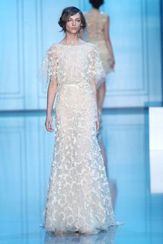 Elie Saab. A Sparkly Wedding Gown