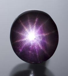 Purple Sapphire with 12 Rays. What a jewel!