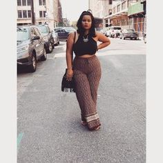 786837308ef85 Thick girl rocking this style