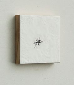 Hey, I found this really awesome Etsy listing at https://www.etsy.com/listing/33776666/ant-original-encaustic-mini-painting