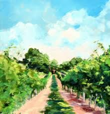 vineyard painting