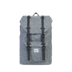 494e2804fb8  herschel  supply  littleamerica  backpack  dots  grey  black Herschel  Supply