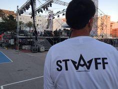 Nuestro LOGO STAFF en las camisetas de el festival No Sin Música 2014