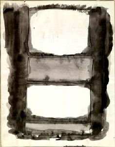 Mark Rothko, Untitled, 1961, Watercolor on paper