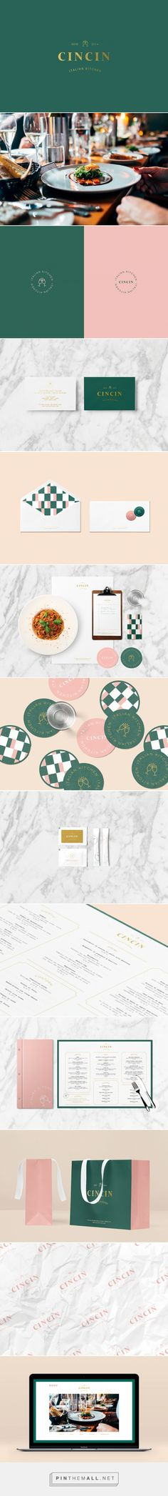 CINCIN Italian Kitchen Restaurant Branding by Xianwen Wei | Fivestar Branding Agency – Design and Branding Agency & Curated Inspiration Gallery