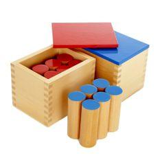 Montessori Sound Boxes. Love!