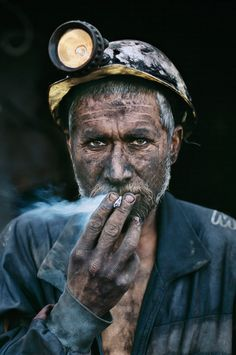 Steve McCurry. Miner