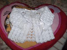 AS RECEITAS DE CROCHÊ: Casaquinho de bebê