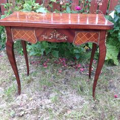 SOLD Sweet Console and Card table