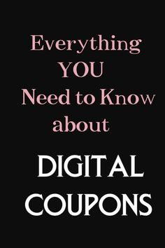 Do you have a digital coupon account? Take a look at these tips before you checkout with digital coupons! #digital #coupons #couponing #learn #easy #simple