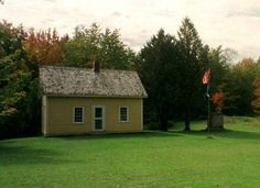 Chester Arthur was born in this house in Fairfield, Vermont.