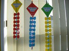 Math Facts Kites