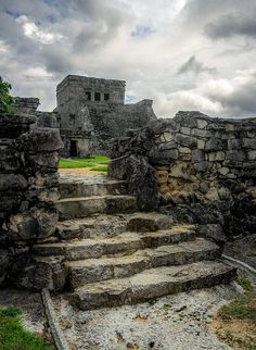 Tulum Castle . Mexico