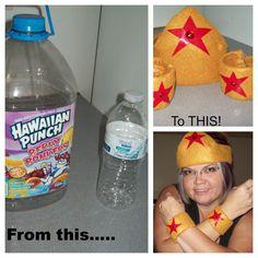 Wonder Woman.......I am on my way to get the hawaiian punch!!
