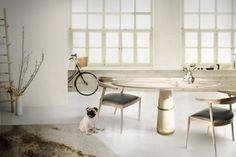 A nova mesa de jantar da BRABBU |