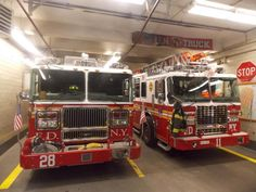 FDNY Engine 28 & Ladder 11.Two fire companies quartered at E. 2nd Street in Manhattan's Alphabet City. Photo by fb friend Scott Berliner shared by nyfiretore.com