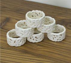 ceramic napkin rings - Google Search