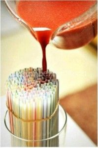 fun kids food - jello worms - perfect for boys