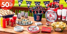 MLB Boston Red Sox Party Supplies