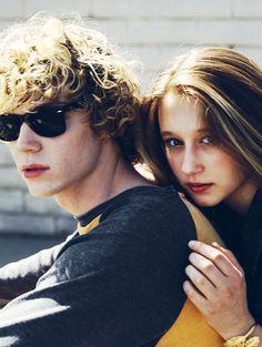 Evan Peters and Taissa Farmiga