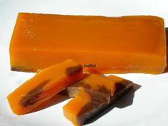 Sweet potato or sweet potato cakes with chocolate colors ~ Flan, Hispanic Desserts, Sweet Recipes, Vegan Recipes, Puerto Rico Food, Puerto Rican Recipes, Jam And Jelly, Chocolate Color, American Food