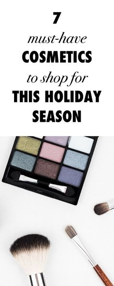 Blue Eyeliner and 6 Other Must-Have Cosmetics To Shop This Holiday Season