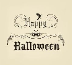 Vintage Halloween Wishes, October 31st, 2012 | Plough Your Own Furrow