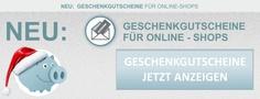 Geschenkgutscheine für Online-Shops aus Deutschland, Österreich & Schweiz in der Übersicht kostenlos bei gutscheine4free.de.