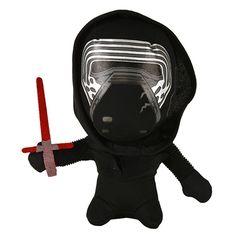 Disney Star Wars The Force Awakens Super Deformed Kylo Ren Plush Toy