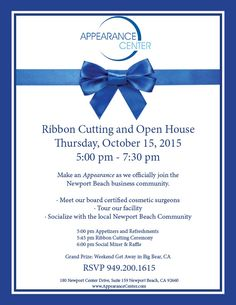 Youre cordially invited to excel urgent care 3rd location ribbon open house stopboris Gallery